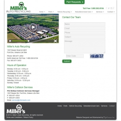 Millers Auto Recycling